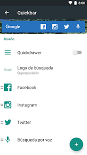Action Launcher 3: miniatura de captura de pantalla