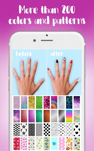 Nail Salon & Nails Photo Editor 1.0.v7a screenshots 1