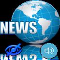 News Reader For Blind - Beta icon