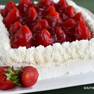 That Strawberry Cake 🙂.