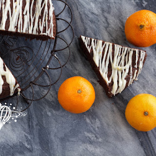 Flourless Chocolate Cake with Mandarin Glaze
