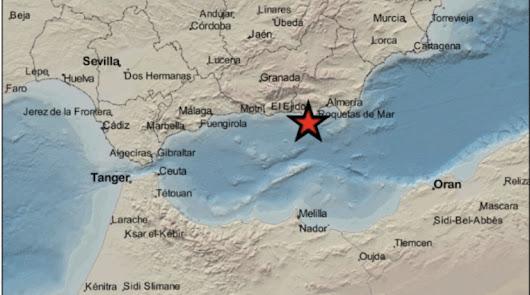 El Poniente tiembla con un terremoto de 3,1 grados en La Mojonera
