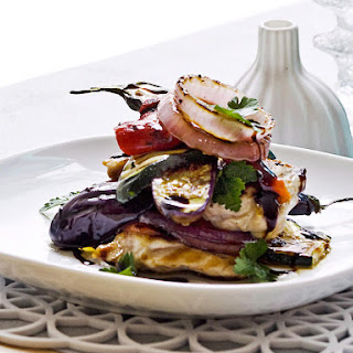 Chicken Caponata Stack
