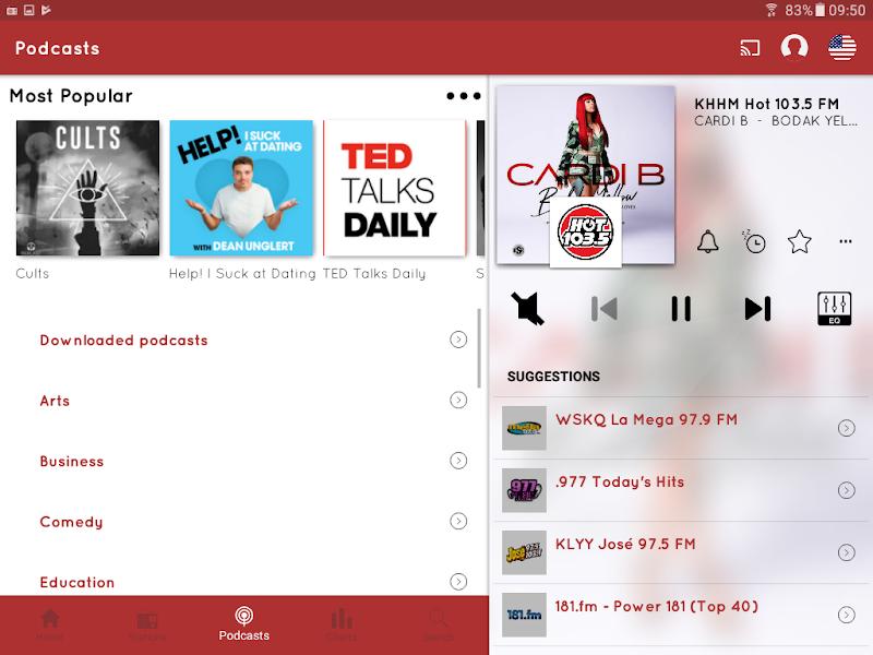 myTuner Radio App: FM Radio + Internet Radio Tuner Screenshot 12