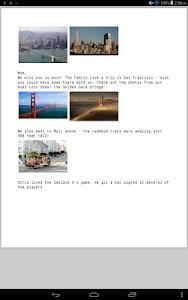 Spletter - send mail & photos screenshot 8
