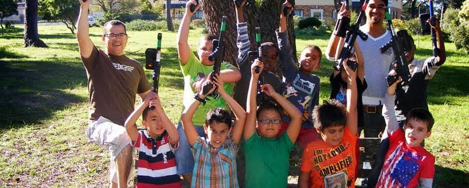 Outdoor Kids Parties