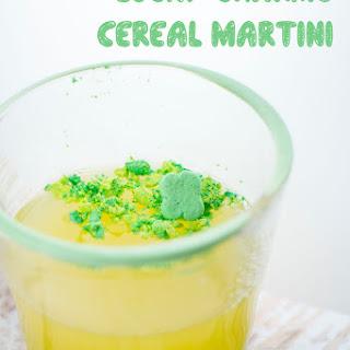 Lucky Charms Rainbow Martini