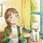 Girl with Cat 1.1.2 Icon