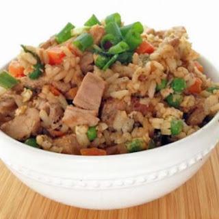Healthier Pork Fried Rice.