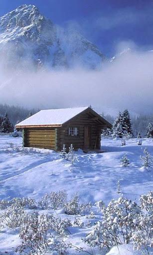 Snowfall Winter live wallpaper