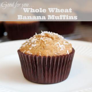Whole Wheat Banana Bread Muffins