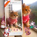 3D Cute Cat Live Launcher Theme🐱 icon