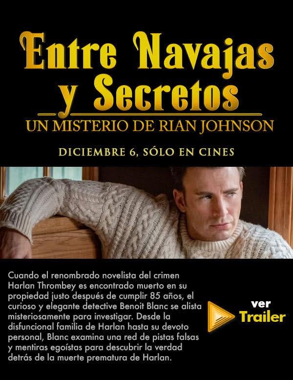 Entre Navajas y Secretos / Estreno: 6 de diciembre
