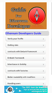 Developer Ethereum Guide - náhled