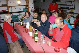 Photo: Bio-Abendessen beim Hobl Bauer am Hegerberg.