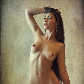 A Dark Allure by John McNairn - Nudes & Boudoir Artistic Nude ( colour, studio, scotland, model, nude, creative )