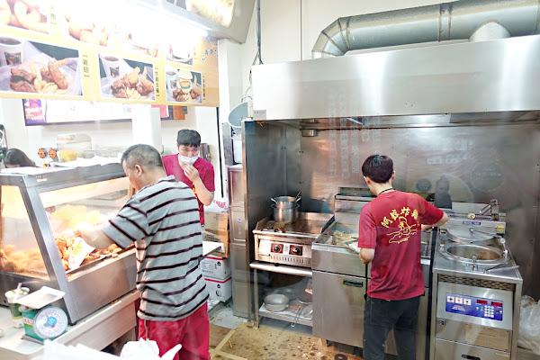 阿鋐炸雞專賣店 皮薄汁多酥脆台式炸雞 市區排隊美食小吃