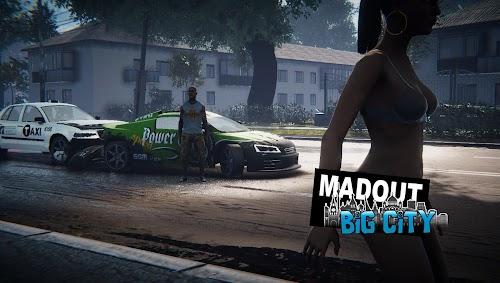 Screenshot 1 MadOut2 BigCityOnline 9.2 APK+DATA MOD