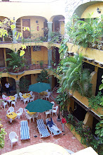 Photo: Hotel at Playa del Carmen