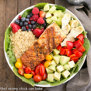 Superfoods Salad with Champagne Honey Vinaigrette Recipe
