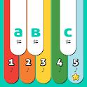 Colourful Piano For Children