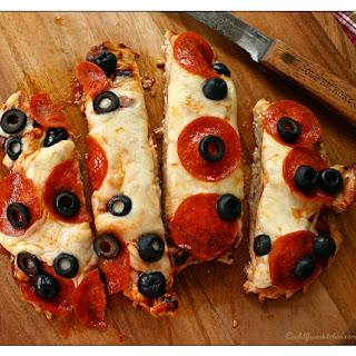 Low-Carb Gluten-Free Chicken Paillard Pizzette.