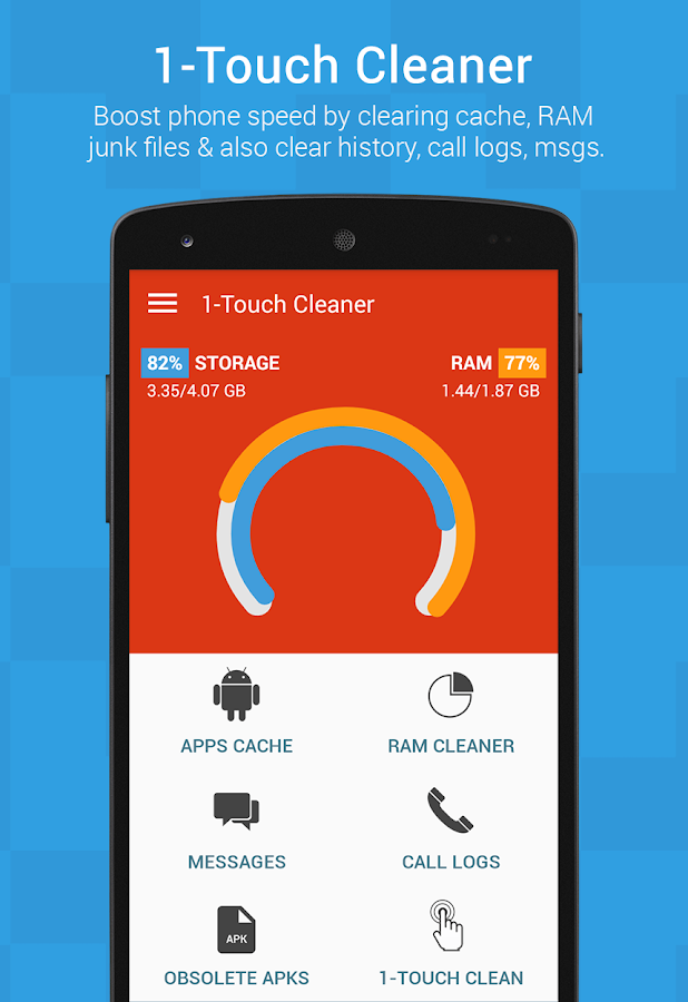 1-Touch Cleaner (Booster)- screenshot