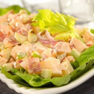 Buffalo Chicken & Potato Salad.