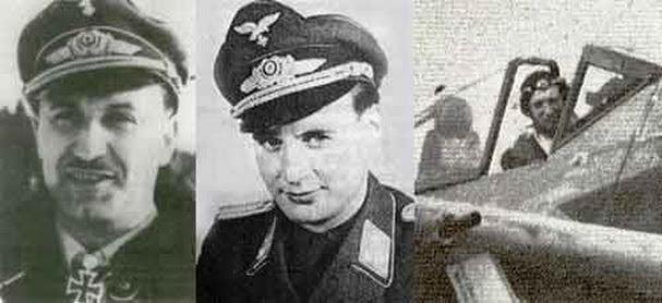 Немецкие мастера таранных ударов  Вальтер Даль; Вернер Герт; Вили Максимович