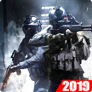 Frontline Force Warfare: FPS Shooting Games 2019