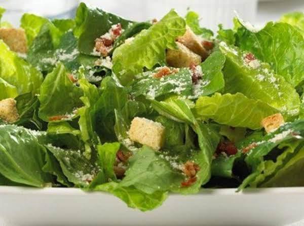 Mom's Caesar Salad Dressing Recipe