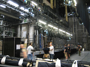 Photo: Backstage at the Vienna State Opera
