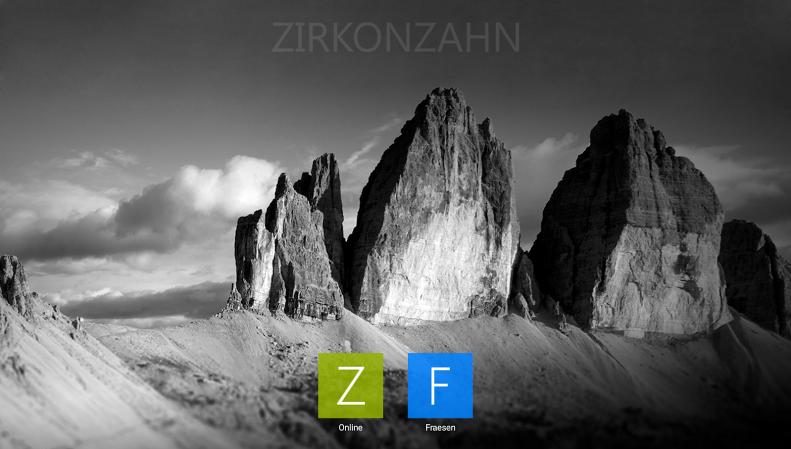 Zirkonzahn.Mobile- screenshot