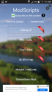 Mod Locator For MCPE screenshot 1