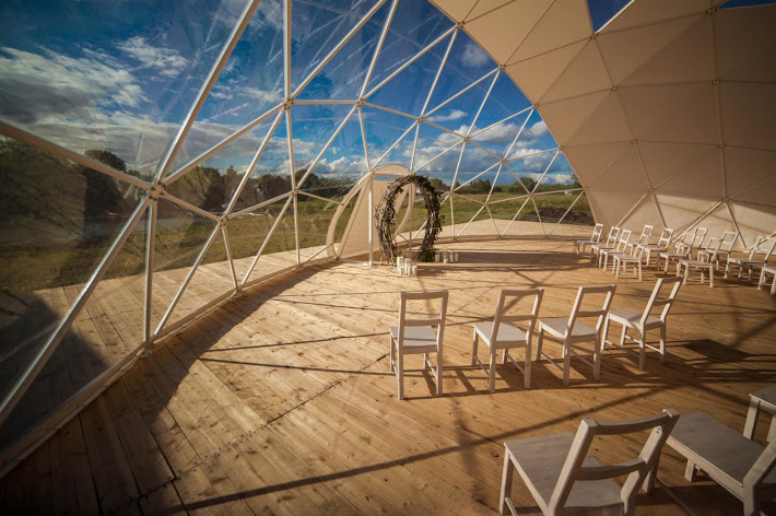 Фото №10 зала Свадебный парк «Изгиб»