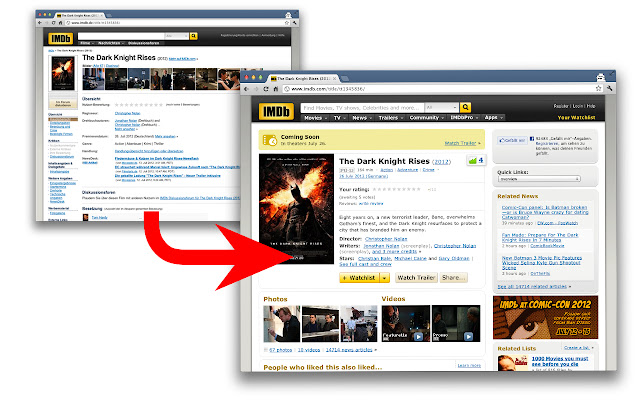 IMDb Redirect