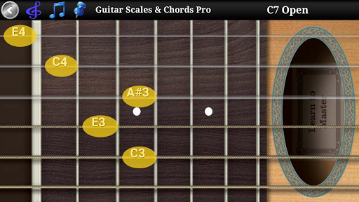 Guitar Scales & Chords Free Added Sustain option screenshots 4