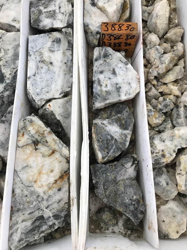 Terronero specimen ore