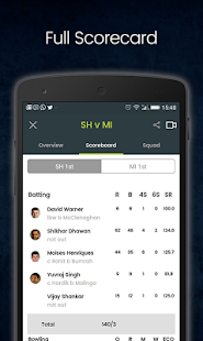 Cricingif - T10 Cricket League Live- screenshot thumbnail