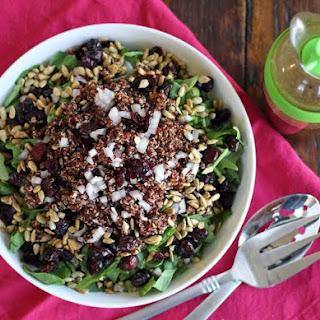 Simple Quinoa Side Salad.