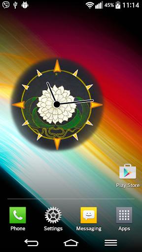 Mandala Clock Widget