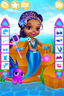 Oblíkačky Mořská panna – hra - náhled