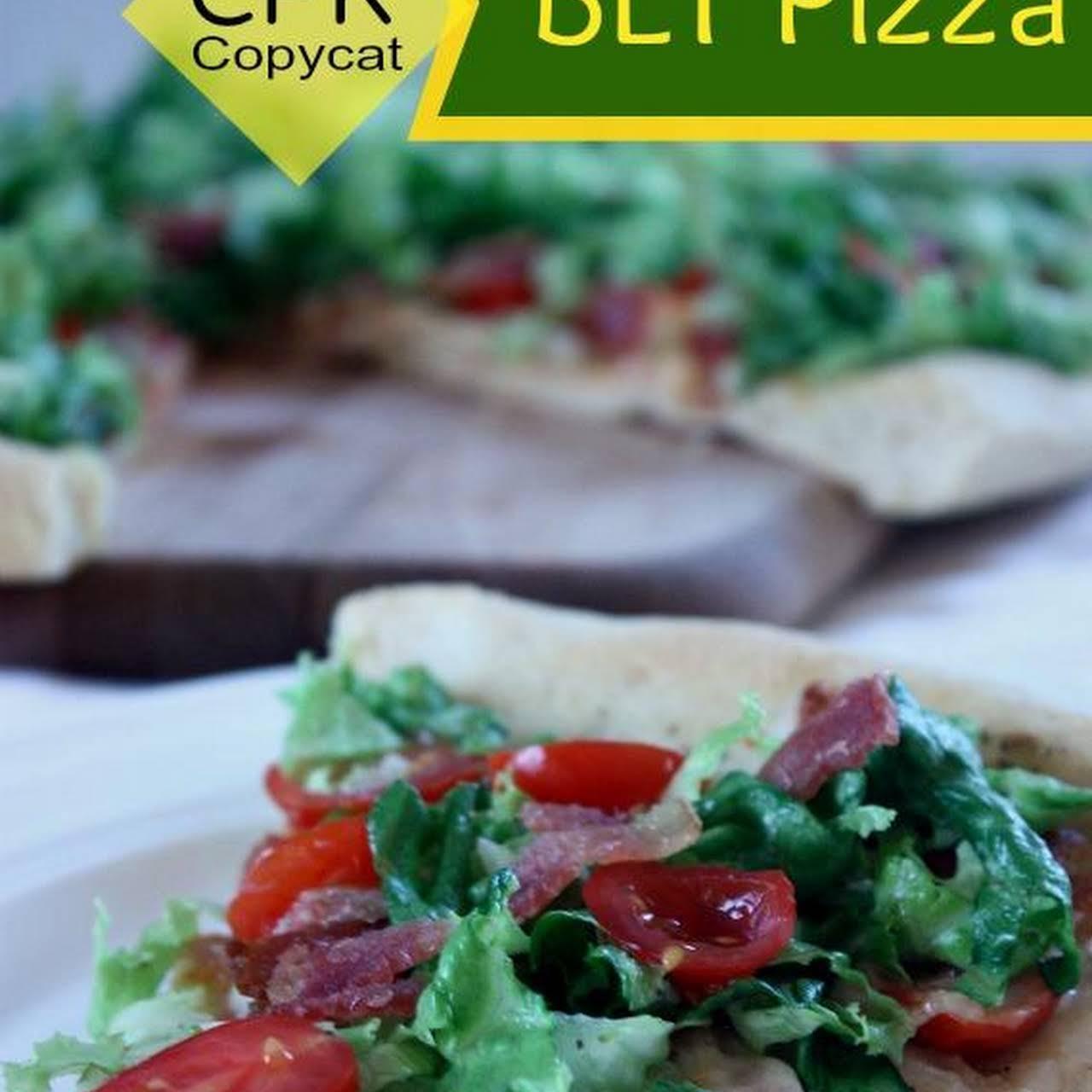 Copycat California Pizza Kitchen BLT Pizza