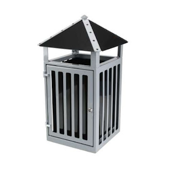 Steel Heavy Duty Litter Bin