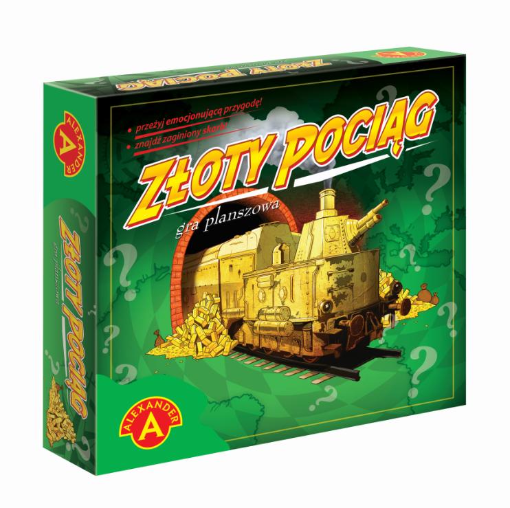 Złoty Pociąg gra planszowa