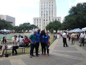 Photo: #SLGT Tour of Houston with Google! City Hall Urban Harvest Farmers Market.
