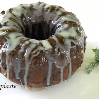 Spiced Ginger Chocolate Cake with Teratsomelo