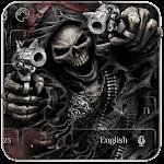Devil Death Skull Gun Keyboard Theme Apk Download Free for PC, smart TV