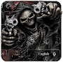 Devil Death Skull Gun Keyboard Theme file APK Free for PC, smart TV Download