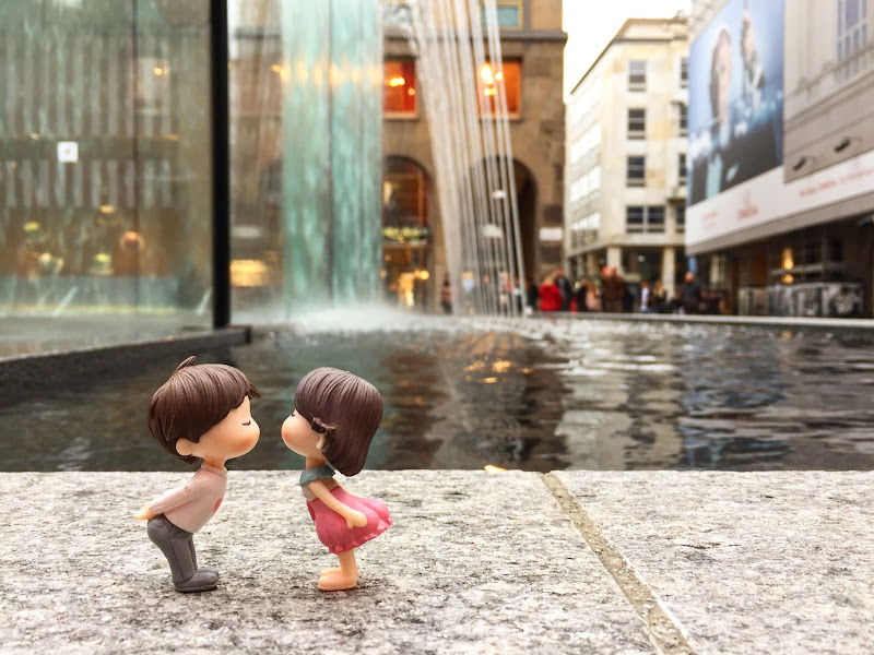 A little couple in Milan di Tita_86